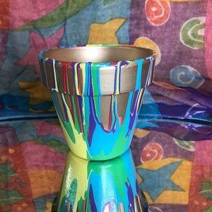 Other - Rainbow Planter Pot